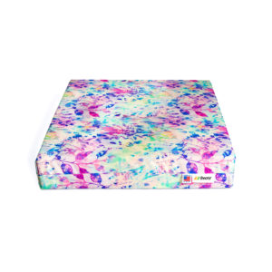 beasy deluxe wheelchair cushion floral